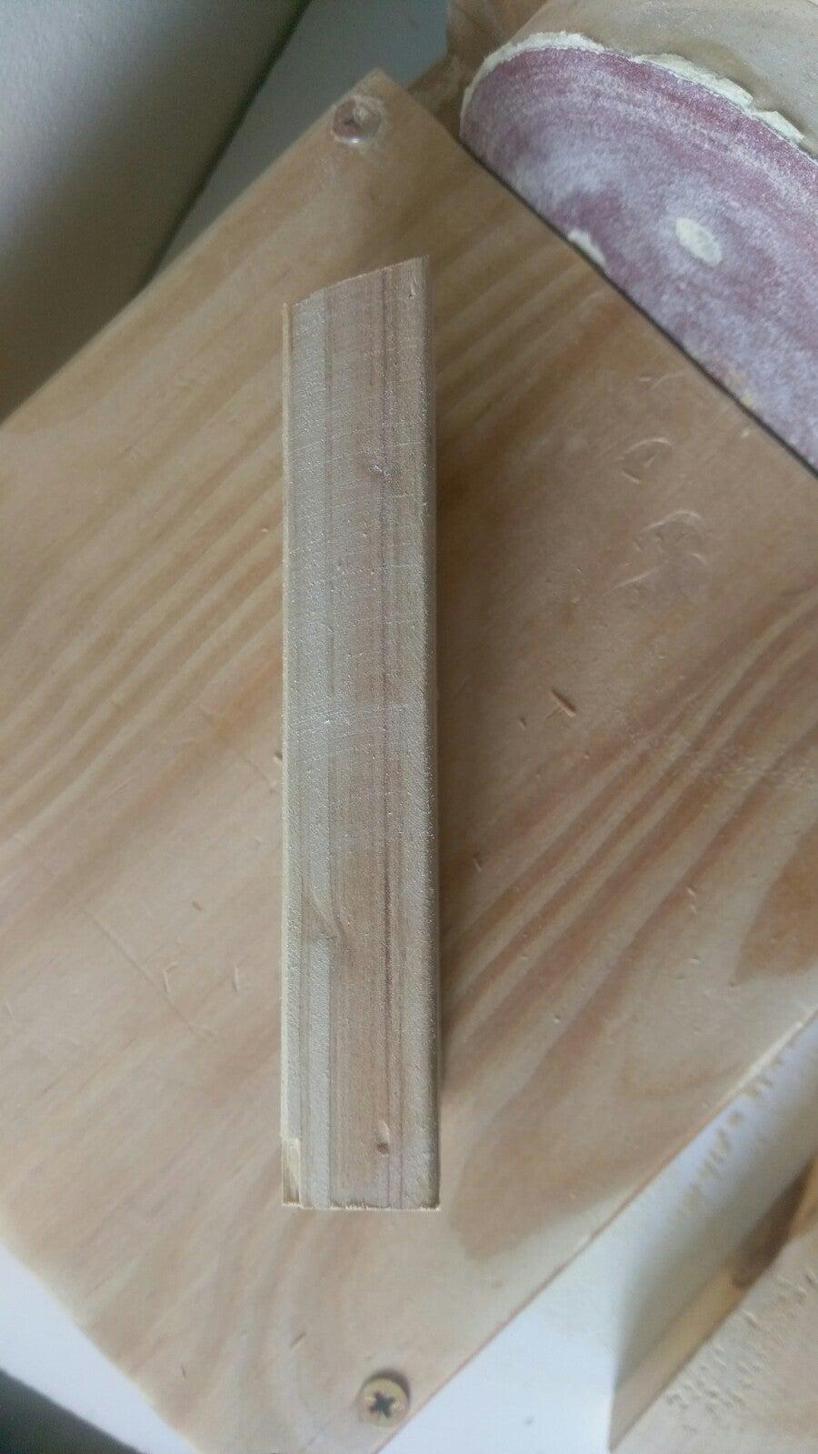 Step 2 - Sanding