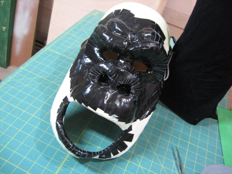 Cover Gorilla Face With Gorilla Tape