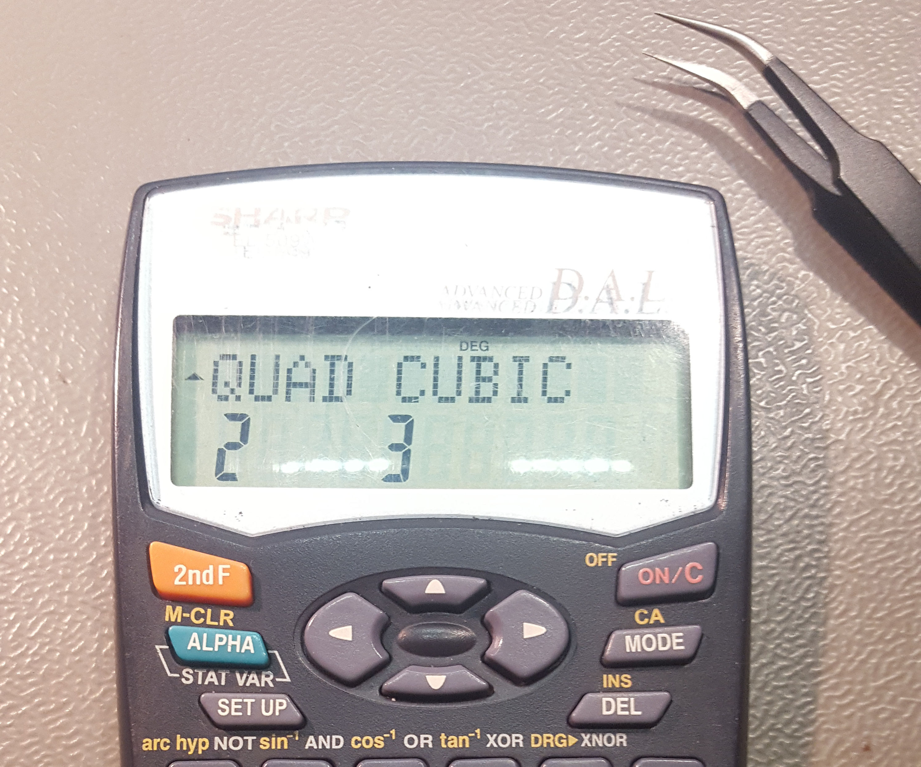 Sharp Calculator Hack