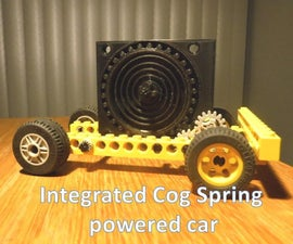 Integrated Coil Spring Car