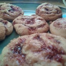 Razmon Swirl Cookies