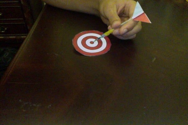 Turn Your Old Pens Into a Fun Dart Game!