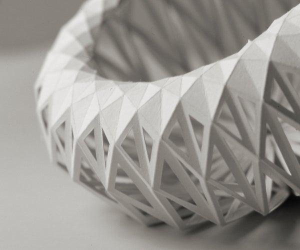 Sea Urchin Origami