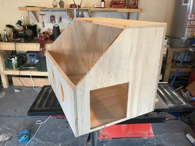 Cut Hole for Pass-through Box
