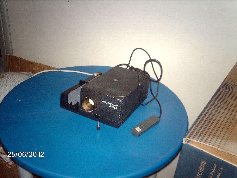 Slide Projector Microscope