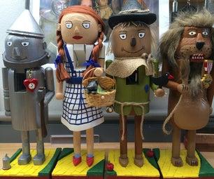 Wizard of Oz Nutcrackers