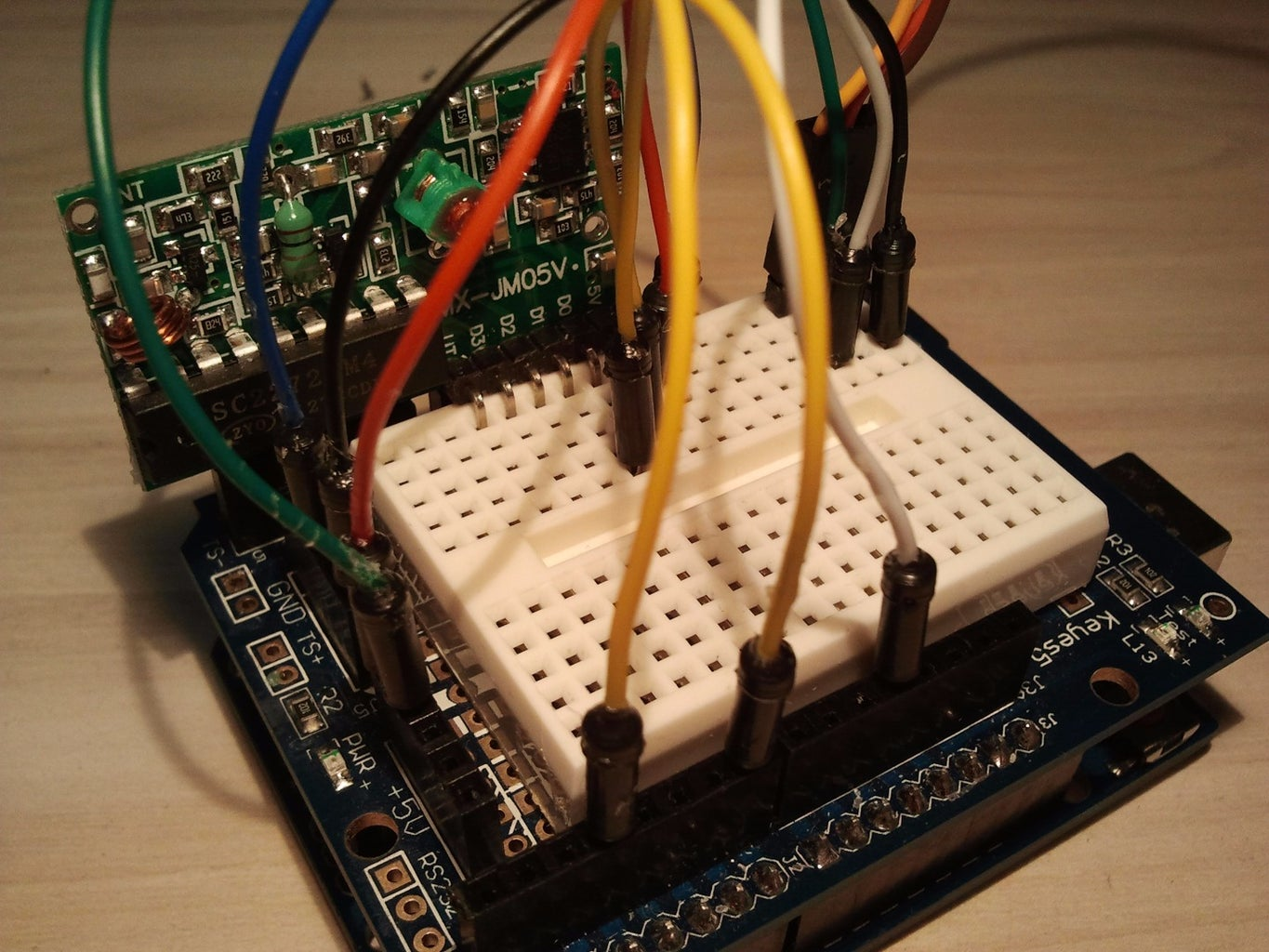 Connecting Parts With Arduino