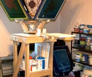 Build a 4 Color T-Shirt Printing Press