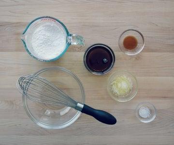 Optional Maple Glaze