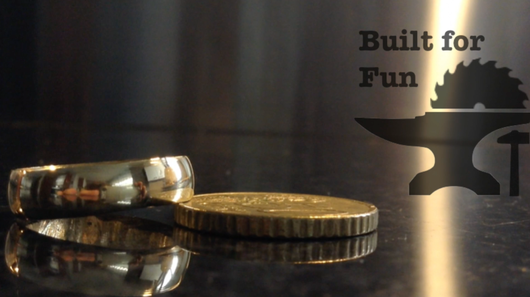 """Built for Fun #06 Fabriquer Une Bague En """"or"""" À 50cent! / Making a Ring """"or"""" to 50cent !"""