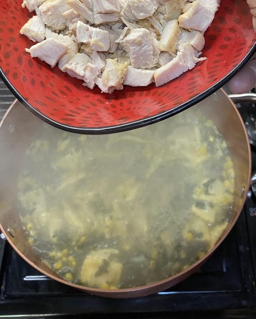 Finishing Soup: