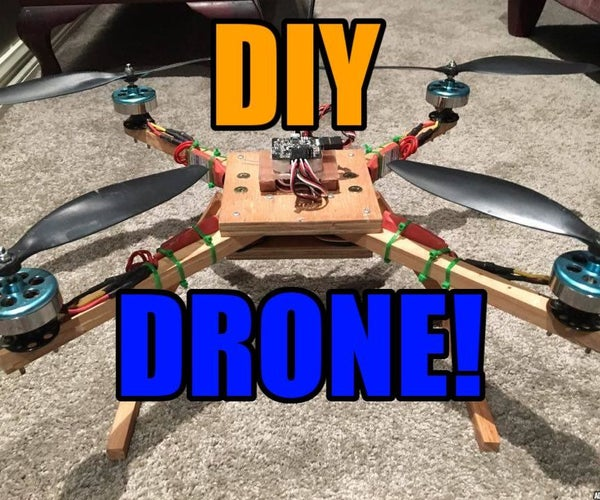 QuadCopter Drone Designing and Building