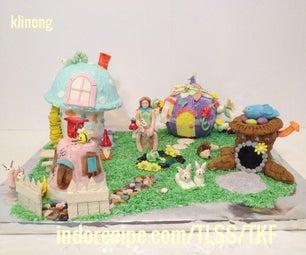 Enchanted Gingerbread Village