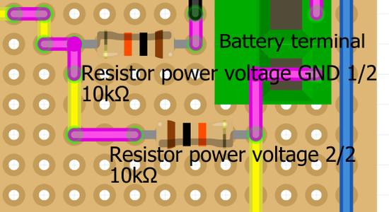 Board: Resistor to Measuring Voltage