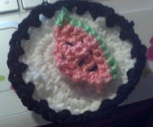 Mini Watermelon on Plate by the Crafty Potato