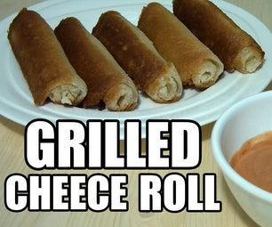 烤奶酪卷起