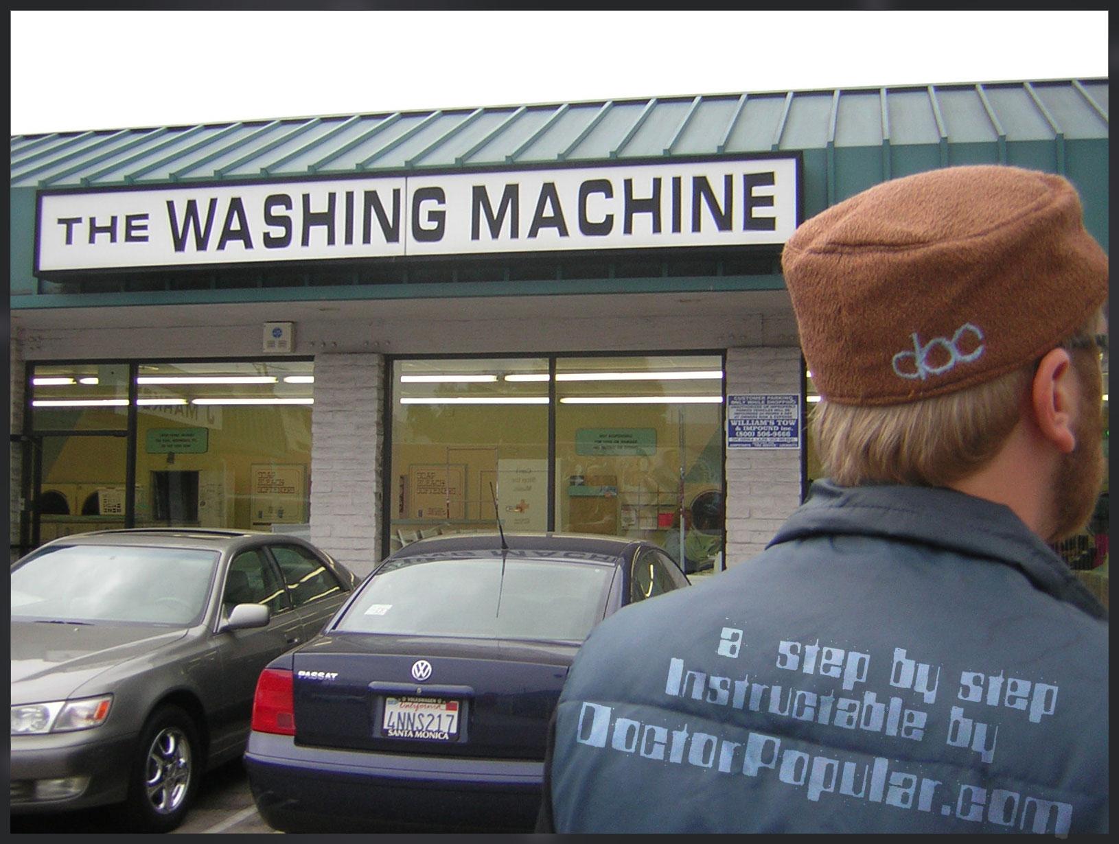 The Washing Machine with a yo-yo