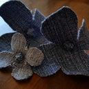 Repurposed Denim Flowers