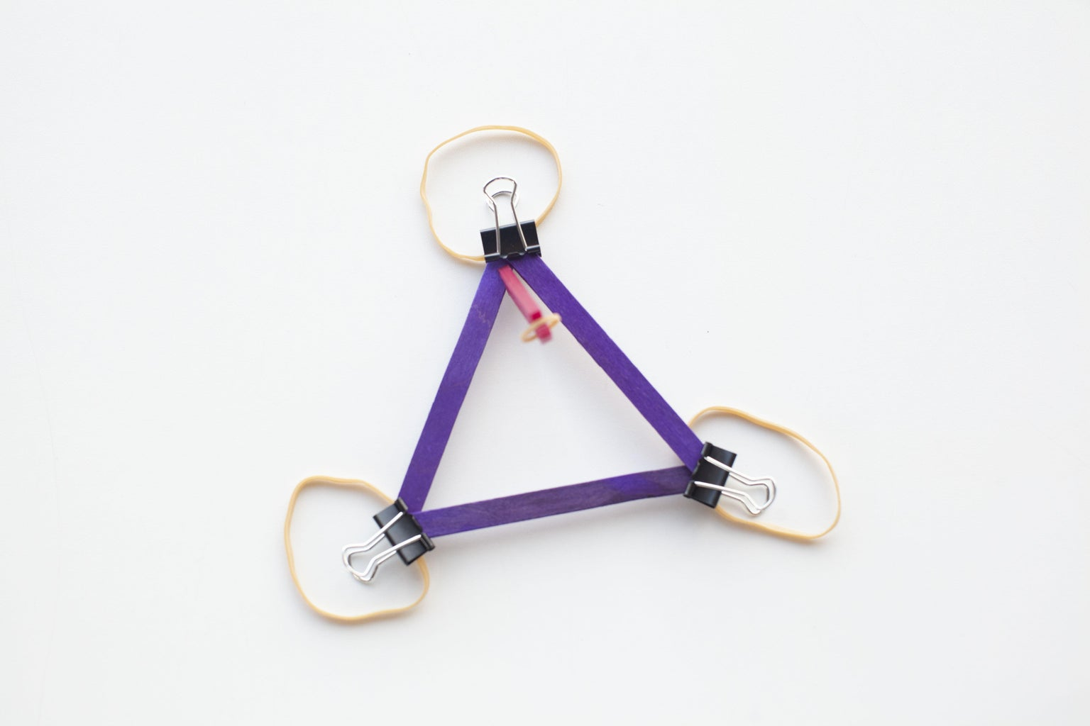 Add Rubber Bands and Assemble!