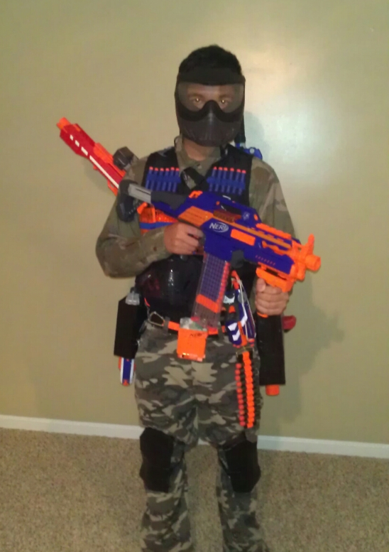 Serious Nerf: Official NK3AE Heavy Uniform