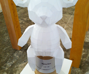 How to Make a Warlon Bear <Paper Craft>
