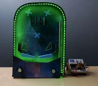 Tabletop Pinball Machine Using Evive- Arduino Based Embedded Plaform