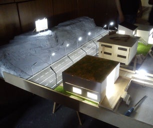 Scale Model of Malibu Beach (a School Project)