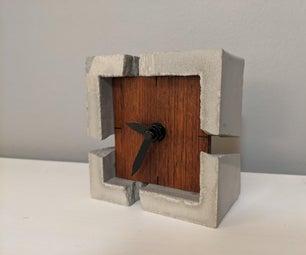 Rubble Desk Clock