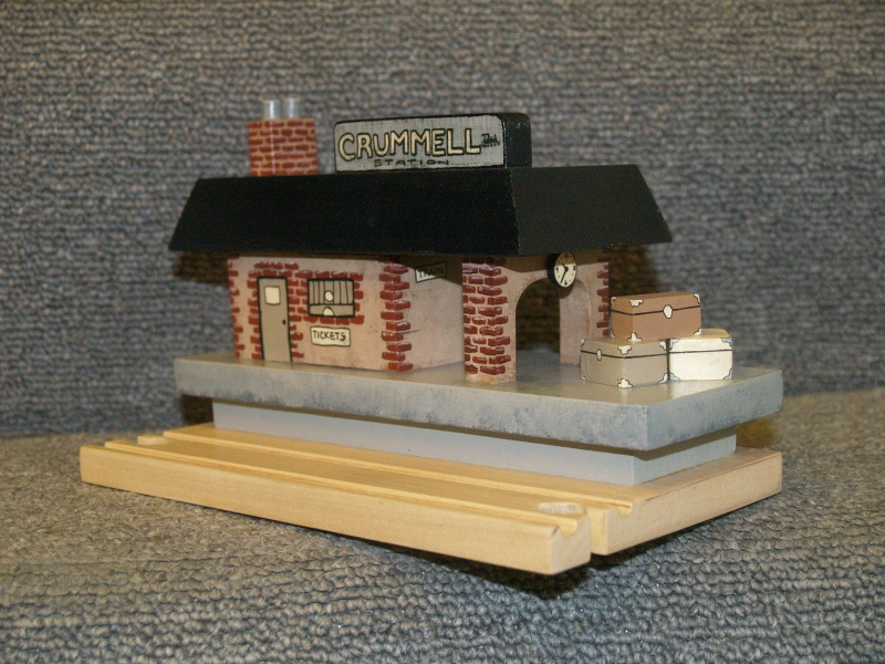 Handmade Station for Thomas the Tank Engine Wooden Train Set