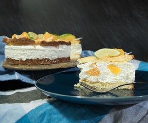 美味的热带奶油蛋糕(无麸质,无面包胶)