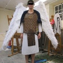 Warrior Archangel Costume with Cable Controlled Wings
