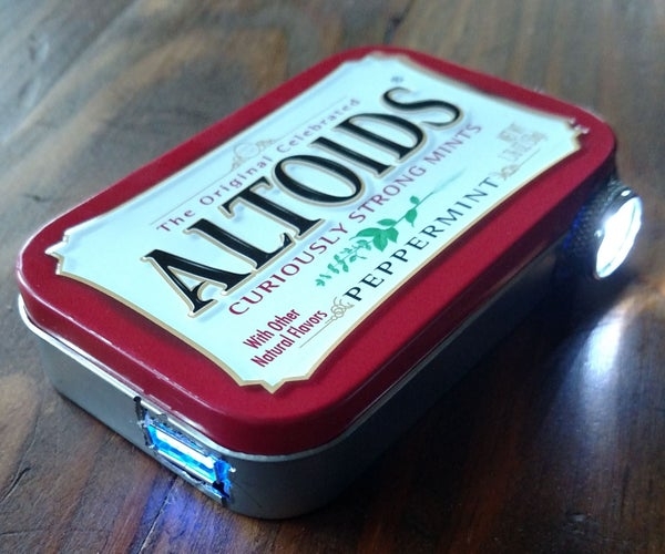 ChargeLight: a 2-in-1 Survival Tin