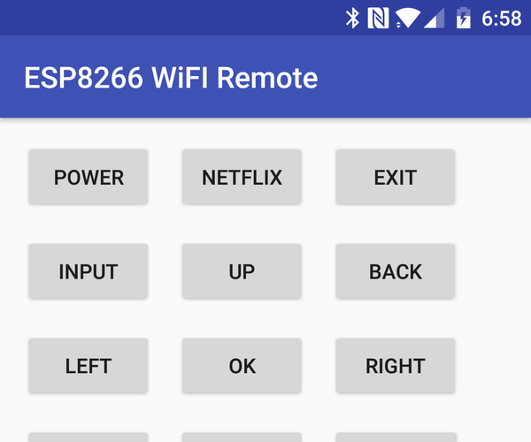 Control Any TV With ESP8266 and Android