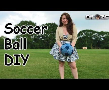 Homemade soccer ball  football