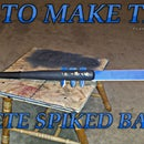 HOW TO MAKE THE MACHETE SPIKED BAT!!!