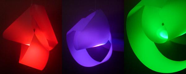 Mobius LED Lantern