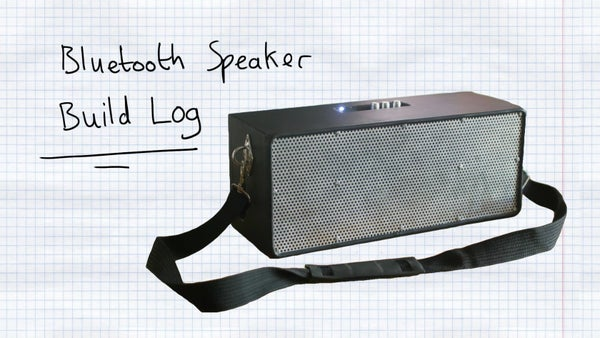 Make a Homemade Bluetooth Speaker