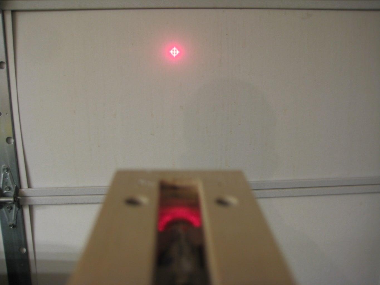 Add the Laser Attachment