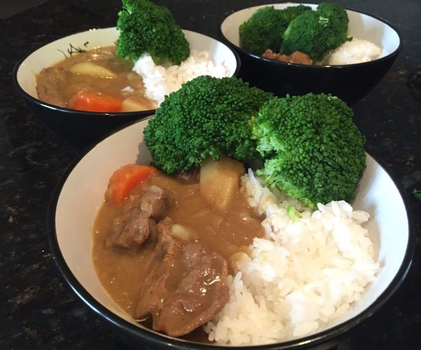Japanese Curry Rice (From Scratch No Package Mix)
