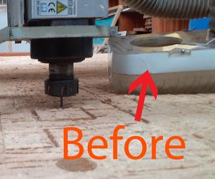 CNC VACUUM PIPE HOLDER USING MDF