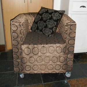 Tub Chair From Scratch and Upholstered