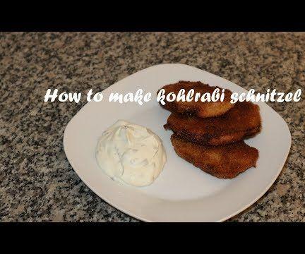 How to Make Kohlrabi Schnitzel Recipe