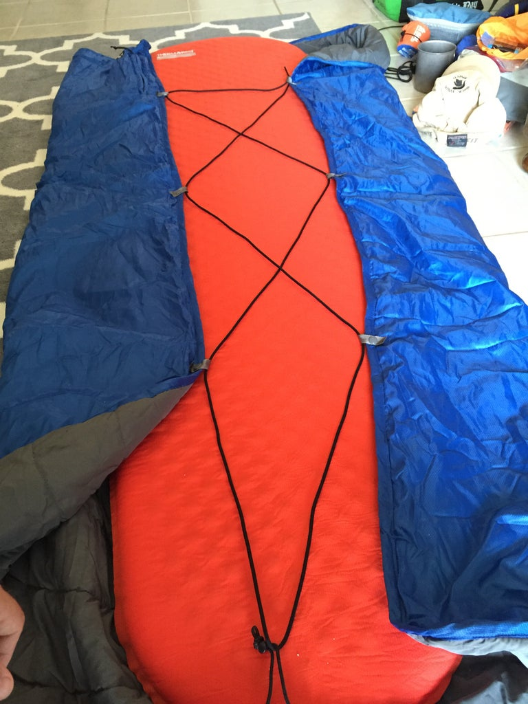 Thermarest Blanket Draft Reduction and Heat Regulation