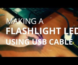 LED Using USB Cable