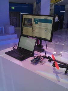 Edison Monitoring System With Motion Detection, Cloud Connection and Video Streaming