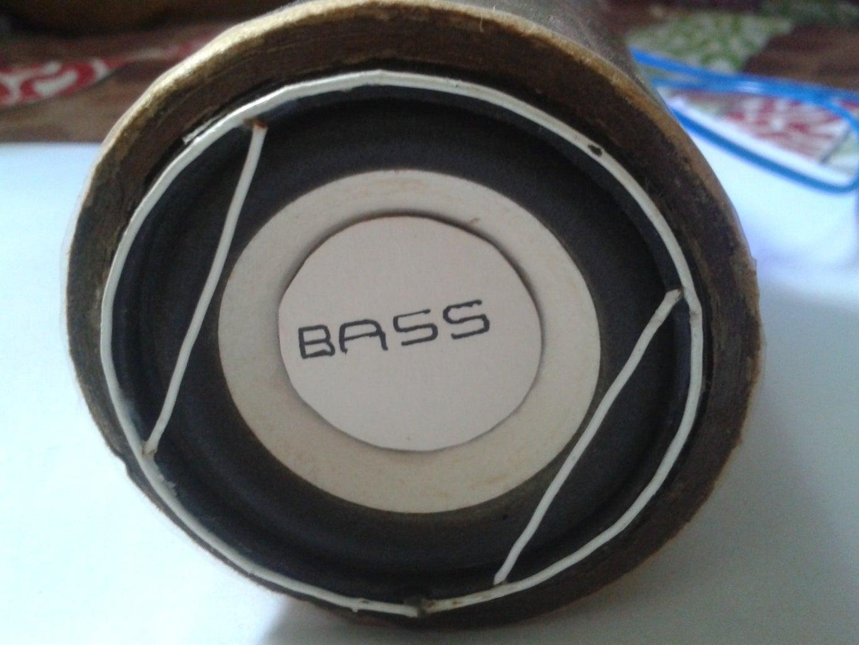 Mobile BASS Speaker !