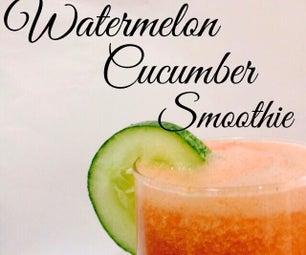 Watermelon Cucumber Smoothie