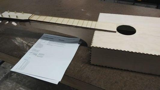Laser Cut Box Ukulele