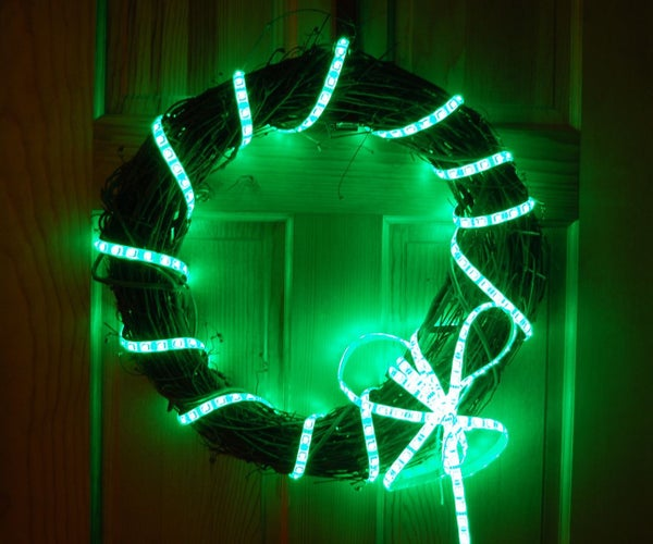 Holi-Lights: Programmable Multi-Holiday Wreath