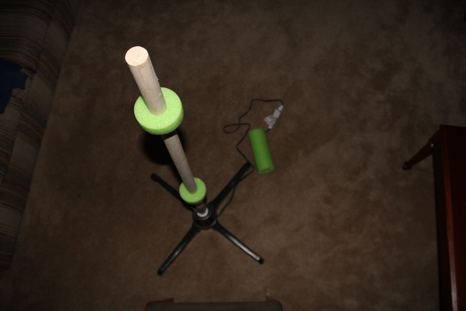Assemble the Rotating Tree Stand